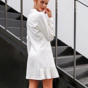 86d89edbbeaf0 Stile Loft Dresses | Celine Off White Blazer Dress | Poshmark